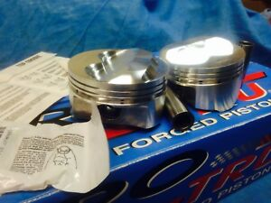 NEW SB CHEVY WISECO PISTONS 265 400 CHEVY STROKER PISTONS PTO58HS KIT $350.00