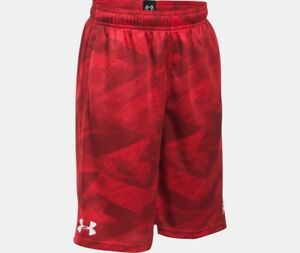 UNDER ARMOUR BOY'S SC30 STEPH CURRY PRINTED LOOSE DRAWSTRING BASKETBALL SHORTS