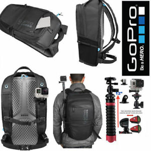 GoPro Black Backpack - AWOPB-001 for GoPro - HERO6 Black 4k +12