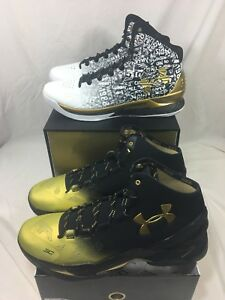 Under Armour UA Steph Curry MVP Pack Back to Back Basketball 1300015-001 Size 15