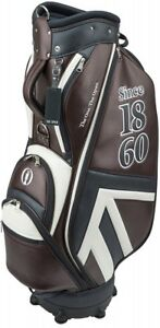 MIZUNO The Open Cart Caddy Bag 5LJC180500 Brown BRITISH OPEN MODEL Caddie