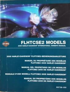 2005 Harley Davidson Owner#x27;s Manual FLHTCSE2 Motorcycle Used Book