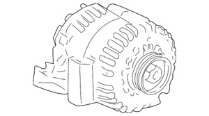 Genuine GM Alternator 19244744