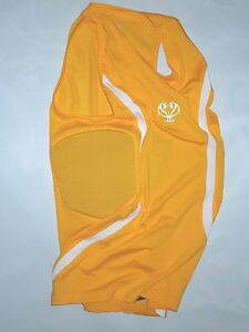 UNDER ARMOUR mens yellow MPZ protector padded Basketball SHIRT size  XL