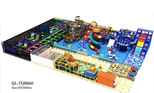 12500 sqft Commercial Indoor Playground Themed Interactive Gym We Finance 100%