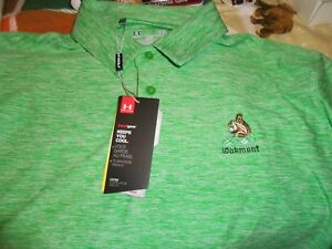 Oakmont Country Club Under Armour Polo Member Shirt L Green New With Tags MINT!