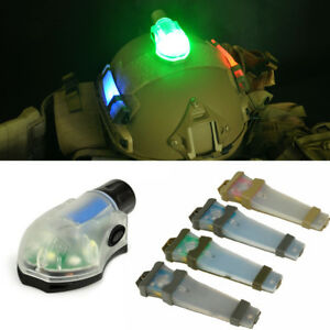 Manta Strobe Light Tactical E-Lite LED Airsoft Signal Flash Safety Helmet Lamp