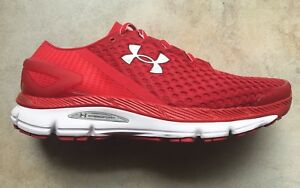 UNDER ARMOUR UA SPEEDFORM GEMINI 2 MENS RUNNING SNEAKER SHOE RED ROUGE $129.99