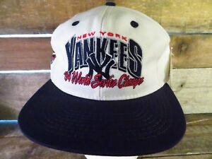 New York YANKEES 1994 World Series Champs RARE NEW NWT Vintage Snapback Hat Cap