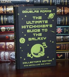 Ultimate Hitchhiker#x27;s Guide to Galaxy by Douglas Adams Collector#x27;s Hardcover