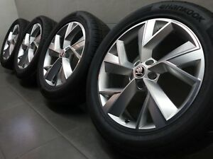 19 Inch Summer Wheels Original Skoda Kodiaq NS Triglav Design 565601025F (H108)
