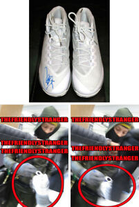 STEPHEN CURRY signed Rare UNDER ARMOUR UA CURRY 3 SHOES - EXACT PROOF Steph COA