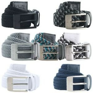 Under Armour Mens Braided Belt UA Buckle Golf Elasticated Woven Stretch Fit $37.53