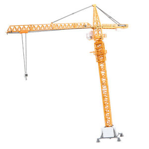 20inch Tall Diecast Crane Toy for Boy Lift Up Construction Activity Playset