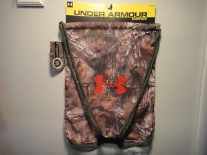 Under Armour & Realtree Xtra Green Camo unisex sackpack With Sternum Clip