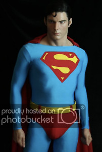 Life Size 1:1 Christopher Reeve Superman Movie Star Wax Statue Realistic Figure
