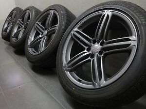 20 Inch Summer Wheels Original Audi Q5 SQ5 8R S-LINE Segment Design 8R0601025BG