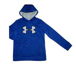 Under Armour Big Boys 8-18 Athletic Logo Storm Water Resistant Hoodie Pullover
