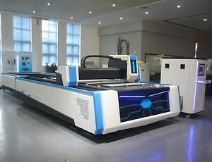 1500W Fiber Laser Metal Cutter with Exchange Table Demo in 10 States