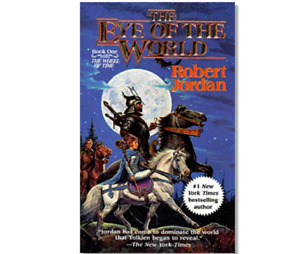 THE EYE OF THE WORLD by Robert Jordan a paperback book FREE SHIP Wheel of Time 1