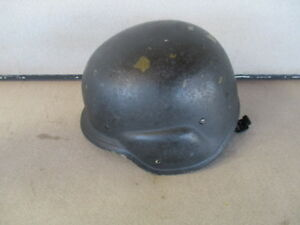 STEMACO PASGT US Army Made With Kevlar Helmet LARGE M-1 SWAT POLICE BALLISTIC