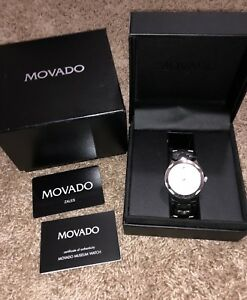 Movado Luno Sport Stainless Steel Bracelet Silver 0606378 Men's Swiss Watch
