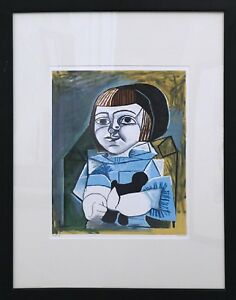 Paloma en bleu (1952) by Pablo Picasso (Limited EditionLithograph 4741000)