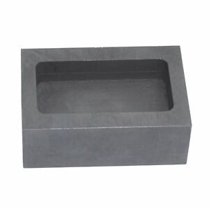 High Purity Refining Graphite Casting Melting Ingot Mold for Gold Silver Metal