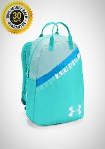 Under Armour Girls Favorite Backpack 3.0 Tropical Tide 425 White One Size New