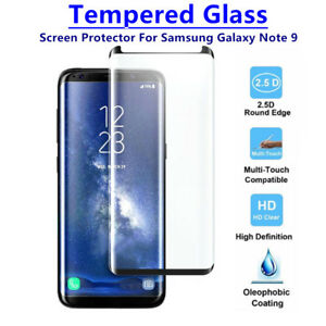 Lot Case Friendly Tempered Glass Screen Protector For Samsung Galaxy Note 9