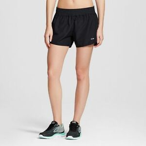 NWT C9 Champion Women's Size M L XL Perforated Black Duo Dry Running Shorts