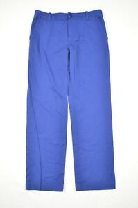 Under Armour Youth Large Blue Straight Leg Loose Golf Dress Pants