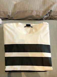 ARMANI EXCHANGE TSHIRT MENS MEDIUM WHITE