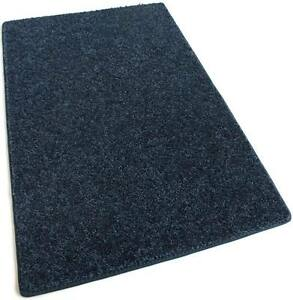 Orchard Mill Darkest Denim Blue 30 oz Cut Pile 1/2″ Thick Indoor Carpet Area Rug