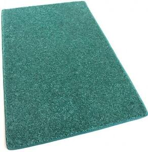 Orchard Mill Real Teal Green 30 oz Cut Pile 1/2″ Thick Indoor Carpet Area Rug
