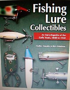ANTIQUE FISHING OLD LURES 5000+ Price Guide $$$ Collectors BOOK 1840 - 1940