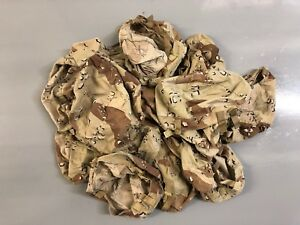 US PASGT Chocolate Chip / Desert Storm / Gulf War Helmet Cover Only