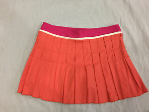 NIKE FIT DRY WOMENS SKIRT SKORT WITH BUILT SHORTS SIZE L 12-14