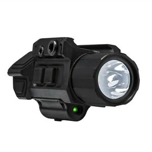 Gen3 Pistol Green Laser Flashlight Strobe Combo QR Mount Tactical 150 L NcSTAR