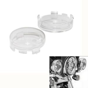 Pair Turn Signal Light Clear Lens Cover Fit For Harley Touring Models 1986-2014