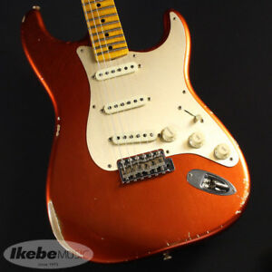 Fender CUSTOM SHOP TBC FAT HEAD Stratocaster Relic  Faded Candy Apple Red (7520