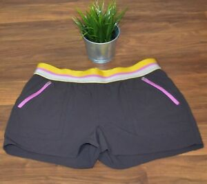 Orvis womens brown active wear running shorts sz M great condition