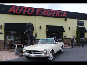 1970 Mercedes-Benz SL-Class 280SL 280SL 2.8L Bosch Fuel Injected I6 4 Speed Manual Mercedes-Benz Light Ivory