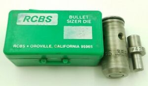 RCBS .358 Bullet Sizer Die (82223) with #429 Top Punch (#2670)