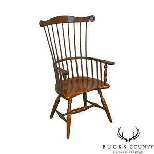 Frederick Duckloe Childs Size Comb Back Windsor Arm Chair