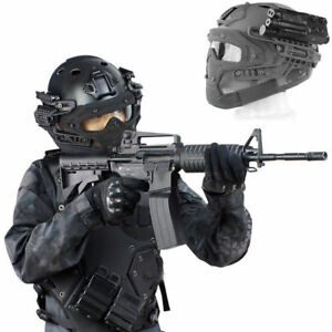 Tactical Helmet Protective Mask Tactical New Outdoor Full Airsoft Paintball Face