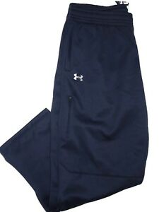 Under Armour men's Cold Gear Infrared Navy sweatpants Sweat Pants  XXL  2XL