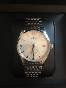Hamilton Thin O Matic Watch 38mm with OEM Bracelet and Leather Strap