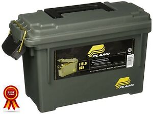Plano 50 Cal Plastic Field Box Ammo Can Ammunition Case Gear Storage Container