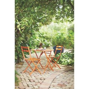 All Weather Patio Bistro Set 3-Piece Portable